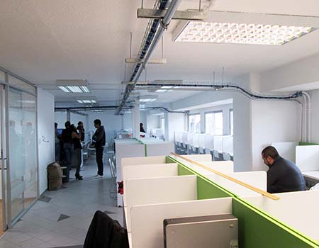Remodelacion de oficinas corporativas san angel for Remodelacion oficinas